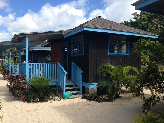 Litia Sini Beach Resort: Our Fale - loved it