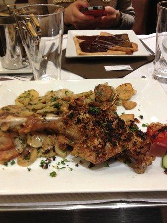 Le Wilson: Confit de Canard - the best duck meal I have ever eaten