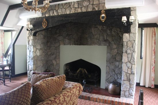 The Lakehouse, Cameron Highlands: A huge fireplace for cold nights.