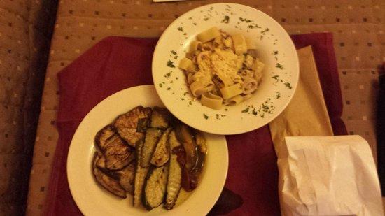 Hotel Galilei: The amazing food