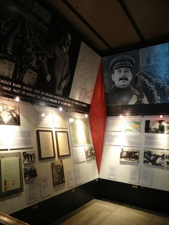 The Museum of the Occupation of Latvia: Гитлер и Сталин