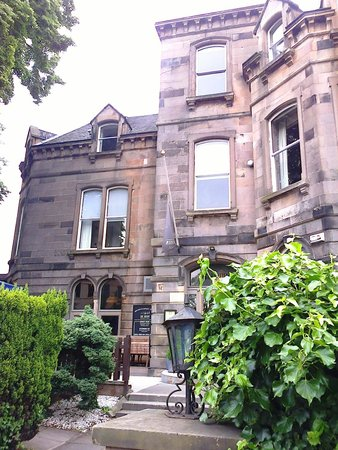 Murrayfield Hotel and House: From the terrace
