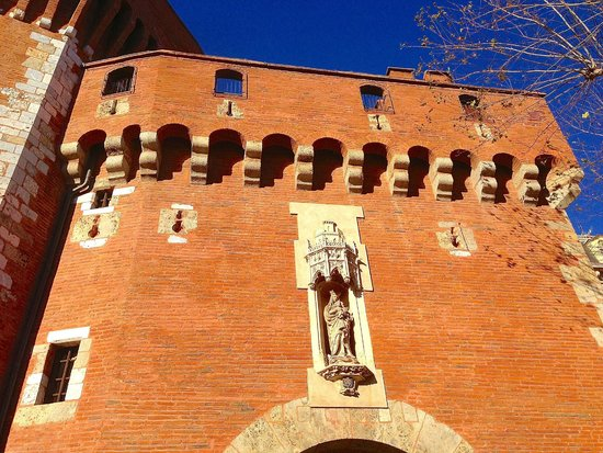 myperpignan: The Castillet just a few minutes walk away