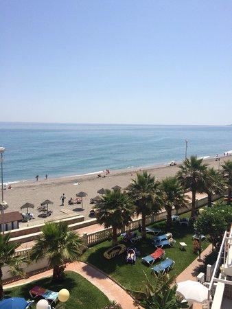 Hotel Perla Marina: Sea view