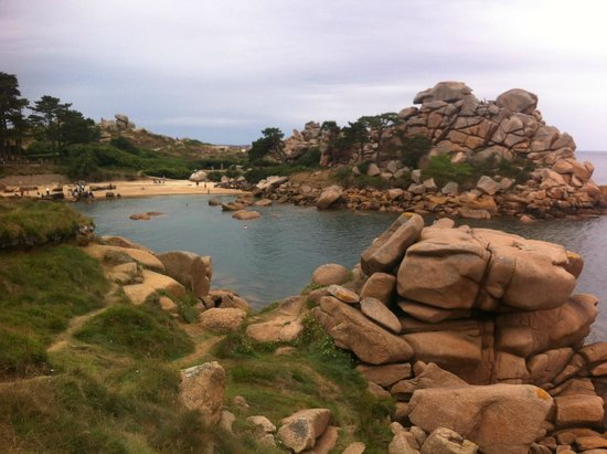 Grand Site Naturel de Ploumanac'h : Playa en Ploumanac'h