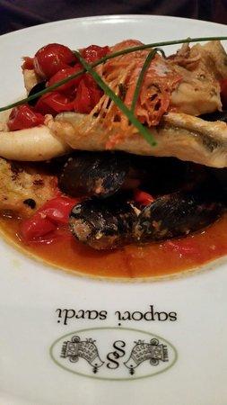 Sapori Sardi: Mixed seafood.
