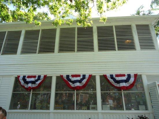 Harry S. Truman Little White House: Фасад дома. Не изменился после последнего визита Трумена в 1969 году