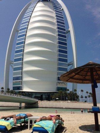 Burj Al Arab Jumeirah: Blick vom Executive Strand