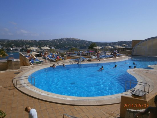 Club Santa Ponsa : La grande piscine