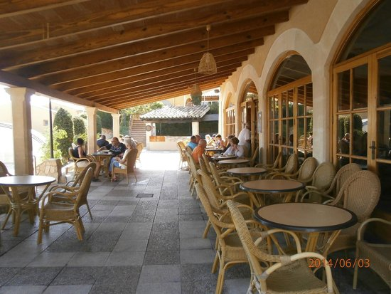 Club Santa Ponsa : La terrasse du bar