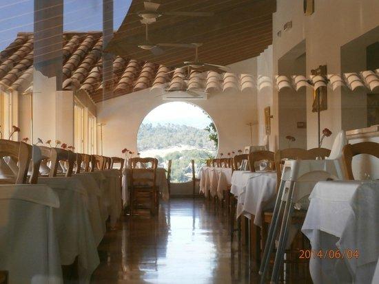 Club Santa Ponsa: Salle à manger du restaurant (en partie)