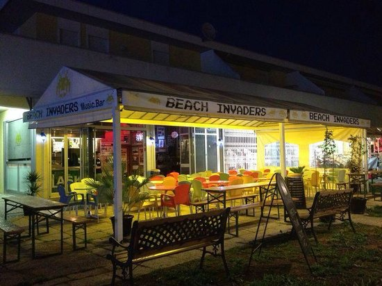 Bibione Pineda, Italy: in the night