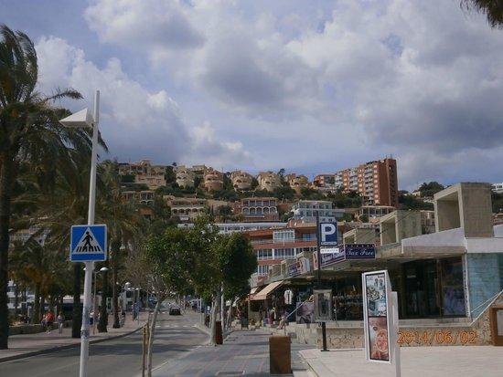 Club Santa Ponsa: Dans le bas de la ville de Santa Ponsa