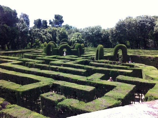 Parque del Laberinto de Horta: labyrinth