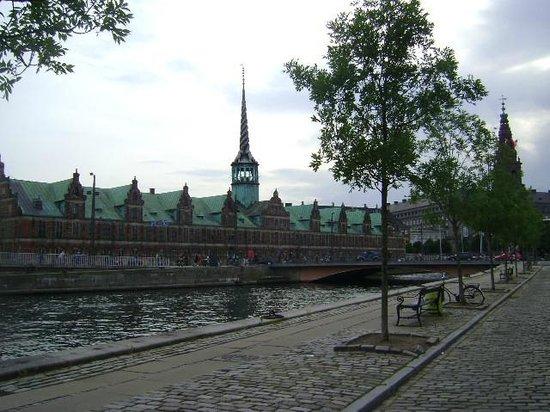Stock Exchange, Copenhague, Dinamarca.