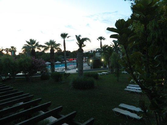 Sun Palace Resort & Spa: Vue de notre chambre