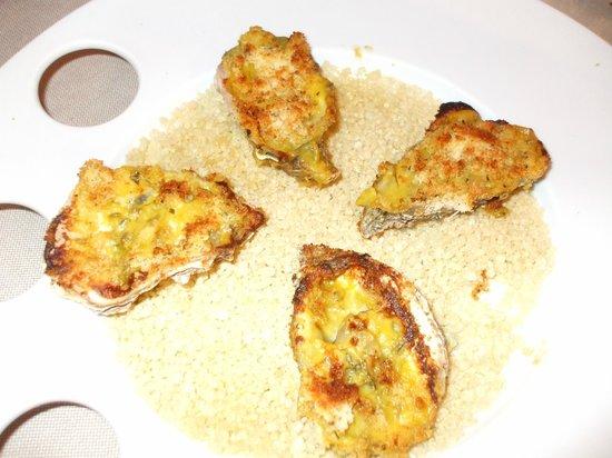 Alla Grotta: Queste ostriche gratinate erano una delizia