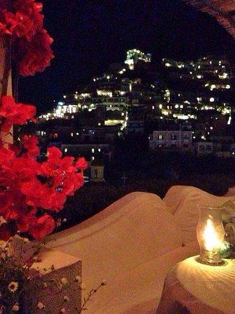 Ristorante La Sponda: Positano view at night