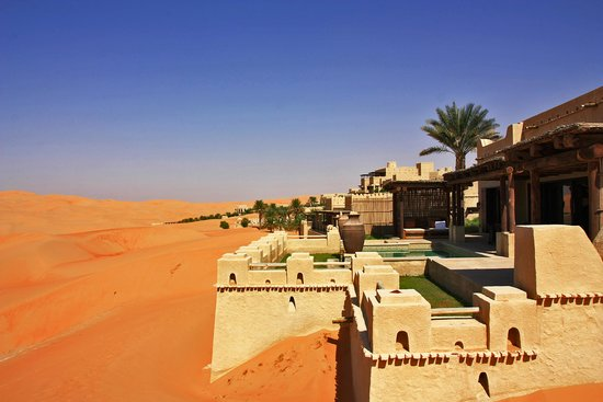 Qasr Al Sarab Desert Resort by Anantara : Resort omgeving