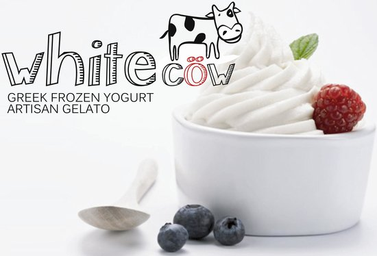 White Cow - Greek Frozen Yogurt, Artisan Gelato