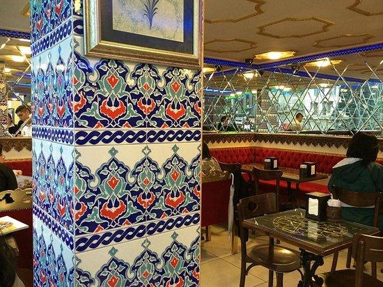Hafiz Mustafa 1864, Sirkeci : The café upstairs