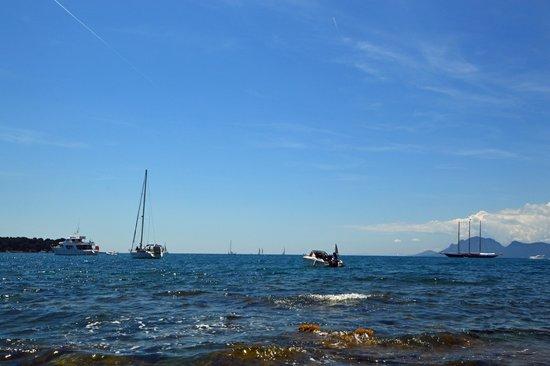 Îles de Lérins : Eau limpide