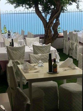 Terrazza a picco sul mare: favoloso! - Picture of Ristorante della ...