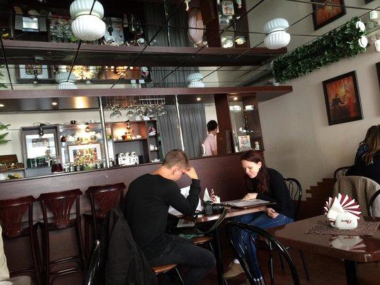 Pieni siisti kahvila  arvostelun kohteena Cafe Krepostnaya, 5, Viipuri, Venä