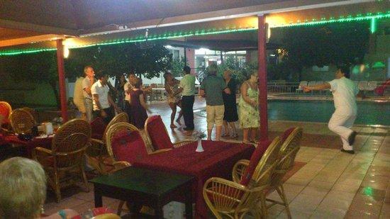 Gazipasa Star Hotel: Turkish night