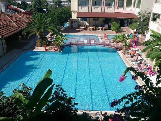 Gazipasa Star Hotel: View from balcony