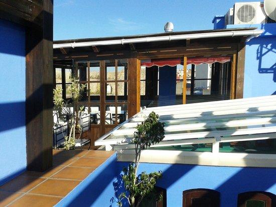 Riad Assilah: La terraza