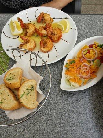 Dal Trullo: Scampi Chef