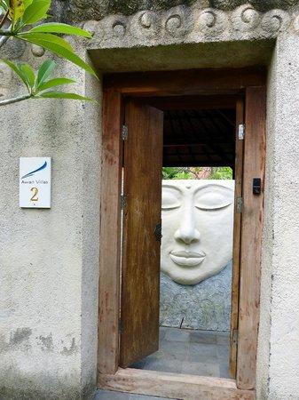 The Awan Villas : Eingang zum Paradies