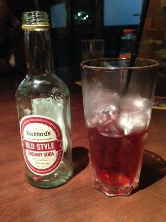 Outback Jacks Nambour: Creamy Soda