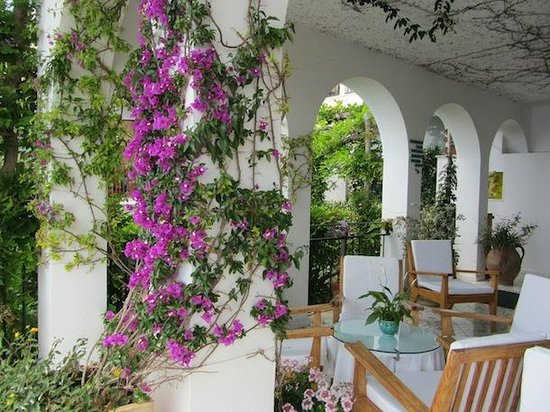 Santa Caterina Hotel: terrace
