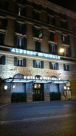 Quirinale Hotel : façade hôtel