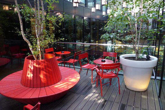 citizenM London Bankside: Outdoor area at citizenM