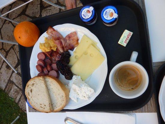 Quirinale Hotel : Petit déjeuner