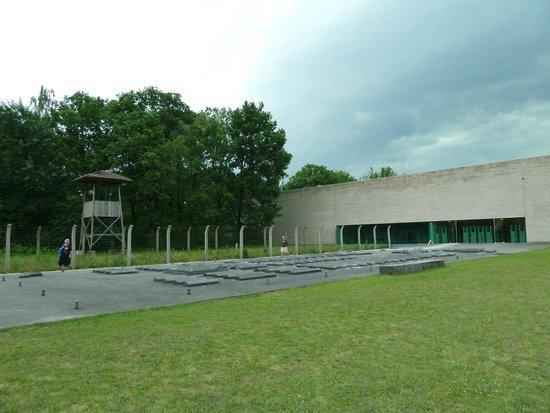 Nationaal Monument Kamp Vught: Main exhibition area