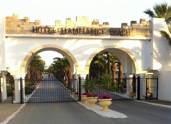 Club Marmara Hammamet Beach : L'entrée du complexe