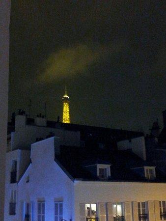 Hotel du Champ de Mars: Vista dalla camera!