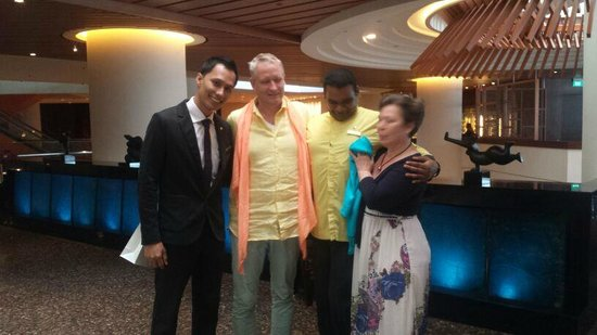 Pan Pacific Singapore: F& B Manager immer ein paar Minuten Zeit und erstklassiger Service