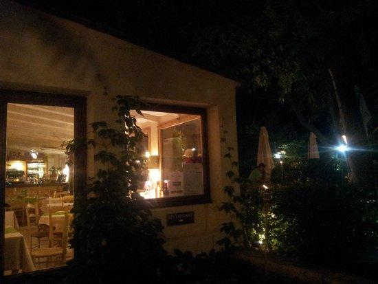 Hotel Restaurant Villa Glanum Saint Remy de Provence : ristorante
