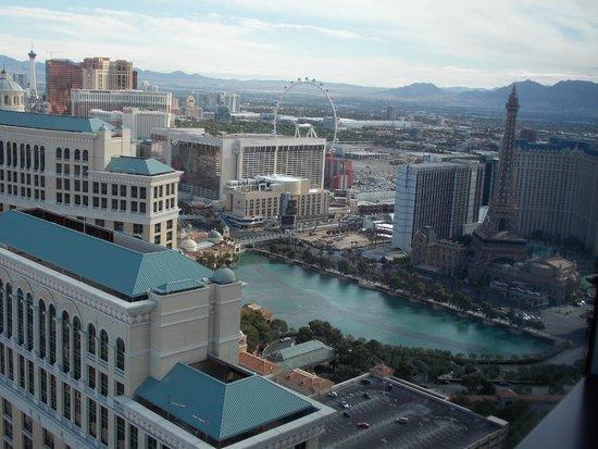 Vdara Hotel & Spa: Vista do nosso quarto.