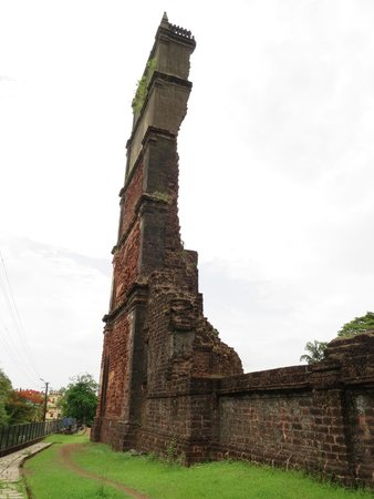 Church and Monastery of St Augustine: Northeast view of tower remains