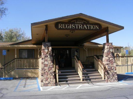 Furnace Creek Inn and Ranch Resort : Registration office