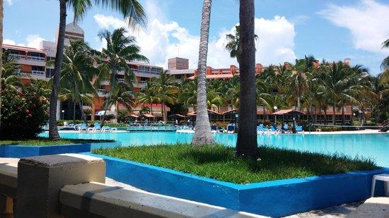 Barceló Solymar Arenas Blancas Resort: vue piscine Arenas Blancas