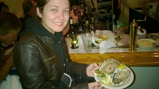 Monterey's Fish House : The biggest oyster!