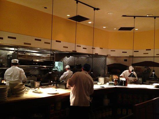 Romano's Macaroni Grill: The kitchen