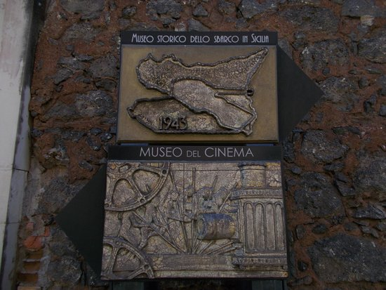 Museo del Cinema di Catania: l'insegna